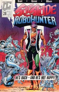 Cover Thumbnail for Sam Slade, RoboHunter (Fleetway/Quality, 1987 series) #28