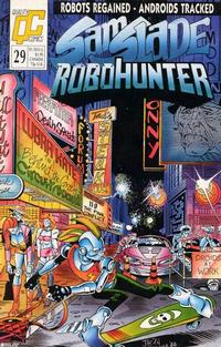 Cover Thumbnail for Sam Slade, RoboHunter (Fleetway/Quality, 1987 series) #29