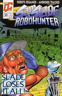 Cover Thumbnail for Sam Slade, RoboHunter (Fleetway/Quality, 1987 series) #30