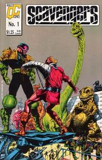 Cover Thumbnail for Scavengers (Fleetway/Quality, 1988 series) #1 [US]