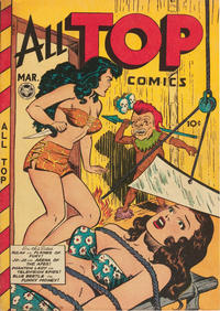 Cover for All Top Comics (Fox, 1946 series) #10