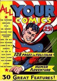 Cover Thumbnail for All Your Comics (Fox, 1944 series)