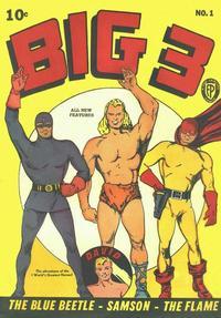 Cover Thumbnail for Big 3 (Fox, 1940 series) #1