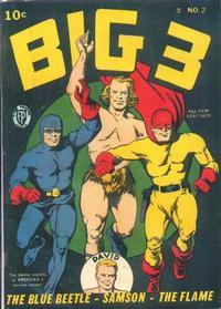 Cover Thumbnail for Big 3 (Fox, 1940 series) #2