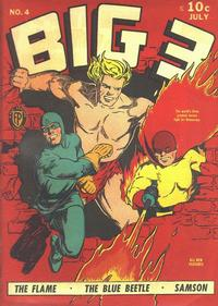 Cover Thumbnail for Big 3 (Fox, 1940 series) #4