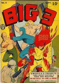 Cover for Big 3 (Fox, 1940 series) #5