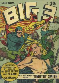 Cover Thumbnail for Big 3 (Fox, 1940 series) #6