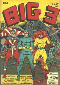 Cover Thumbnail for Big 3 (Fox, 1940 series) #7