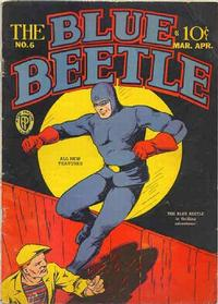 Cover Thumbnail for Blue Beetle (Fox, 1940 series) #6
