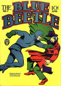 Cover Thumbnail for Blue Beetle (Fox, 1940 series) #7