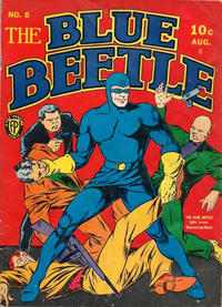 Cover Thumbnail for Blue Beetle (Fox, 1940 series) #8
