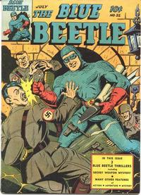 Cover Thumbnail for Blue Beetle (Fox, 1940 series) #32
