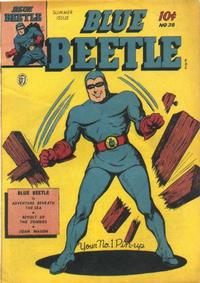 Cover Thumbnail for Blue Beetle (Fox, 1940 series) #38