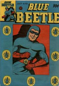 Cover Thumbnail for Blue Beetle (Fox, 1940 series) #42