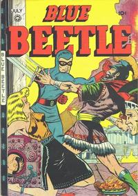 Cover Thumbnail for Blue Beetle (Fox, 1940 series) #46