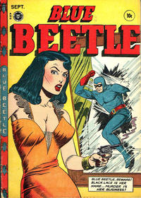 Cover Thumbnail for Blue Beetle (Fox, 1940 series) #48