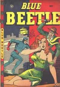 Cover Thumbnail for Blue Beetle (Fox, 1940 series) #49