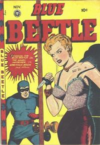 Cover Thumbnail for Blue Beetle (Fox, 1940 series) #50