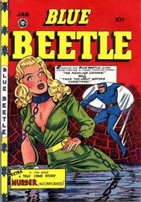 Cover Thumbnail for Blue Beetle (Fox, 1940 series) #52