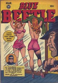 Cover Thumbnail for Blue Beetle (Fox, 1940 series) #54