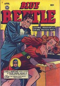 Cover Thumbnail for Blue Beetle (Fox, 1940 series) #55