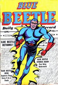 Cover Thumbnail for Blue Beetle (Fox, 1940 series) #58