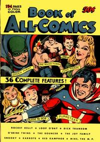 Cover Thumbnail for Book of All-Comics (Fox, 1945 series)