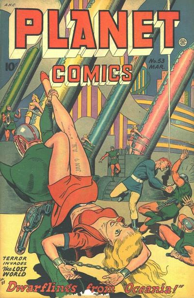 Cover for Planet Comics (Fiction House, 1940 series) #53