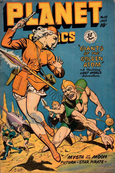 Cover for Planet Comics (Fiction House, 1940 series) #55