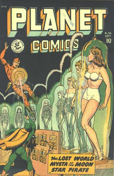Cover for Planet Comics (Fiction House, 1940 series) #56