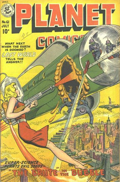 Cover for Planet Comics (Fiction House, 1940 series) #61