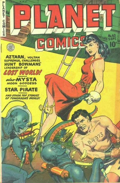 Cover for Planet Comics (Fiction House, 1940 series) #62