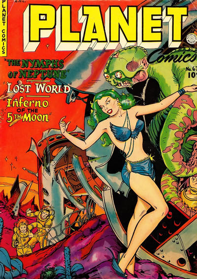 Cover for Planet Comics (Fiction House, 1940 series) #67