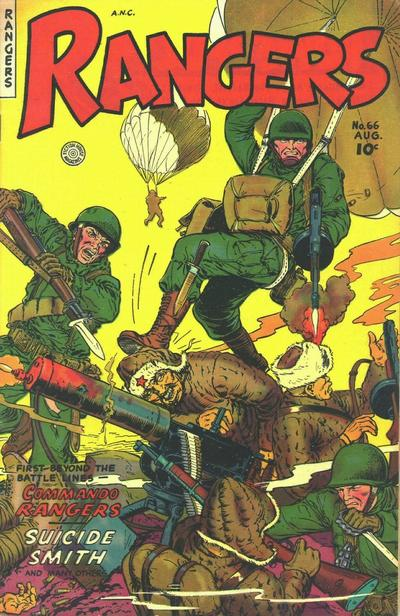 Cover for Rangers (Fiction House, 1952 series) #66