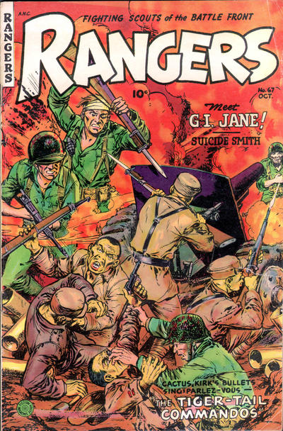 Cover for Rangers (Fiction House, 1952 series) #67