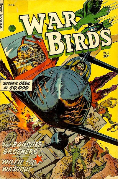 Cover for War Birds (Fiction House, 1952 series) #1