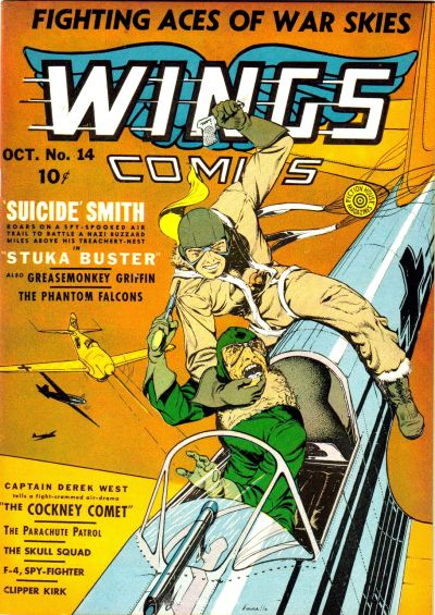 Cover for Wings Comics (Fiction House, 1940 series) #14