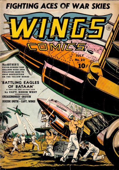 Cover for Wings Comics (Fiction House, 1940 series) #23
