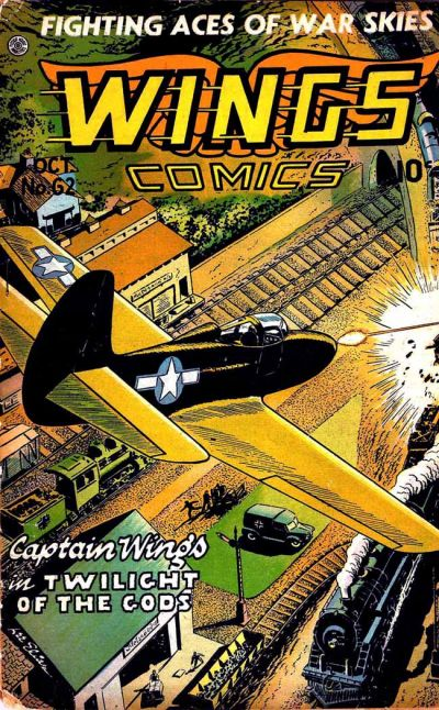 Cover for Wings Comics (Fiction House, 1940 series) #62