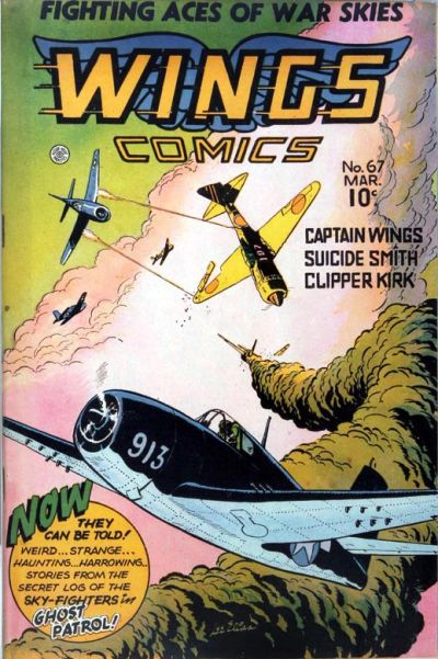 Cover for Wings Comics (Fiction House, 1940 series) #67