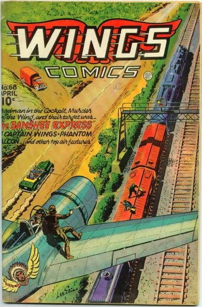 Cover for Wings Comics (Fiction House, 1940 series) #68