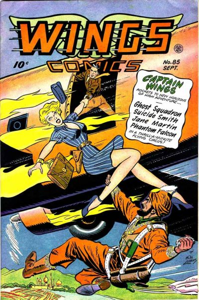 Cover for Wings Comics (Fiction House, 1940 series) #85