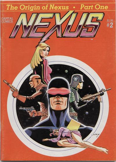 Cover for Nexus (Capital Comics, 1981 series) #2