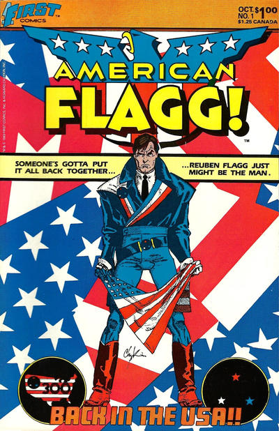 Cover for American Flagg! (First, 1983 series) #1