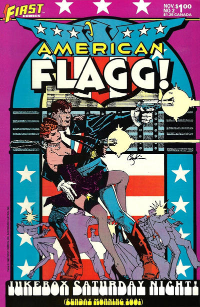 Cover for American Flagg! (First, 1983 series) #2