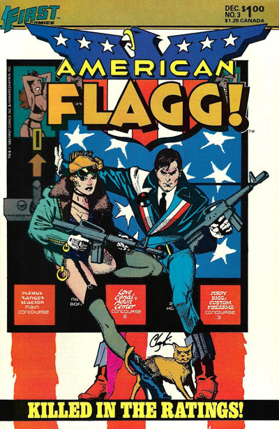 Cover for American Flagg! (First, 1983 series) #3