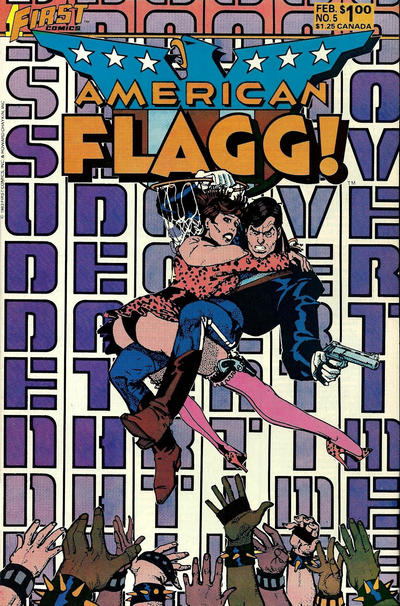 Cover for American Flagg! (First, 1983 series) #5