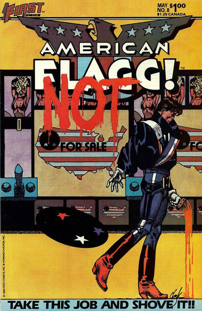 Cover for American Flagg! (First, 1983 series) #8