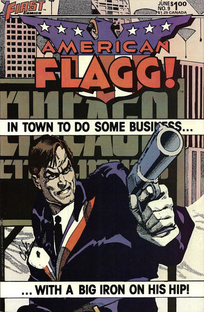 Cover for American Flagg! (First, 1983 series) #9