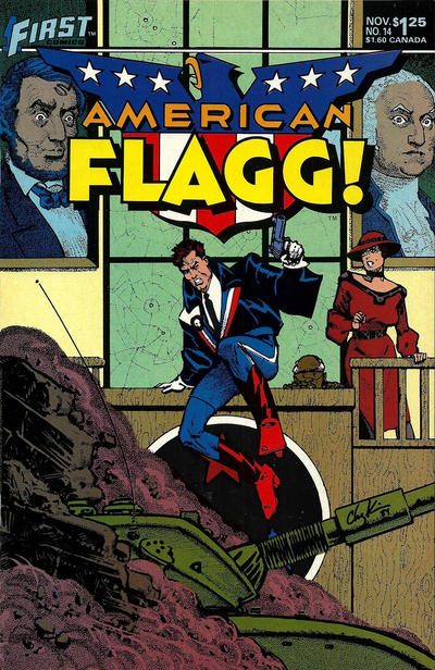 Cover for American Flagg! (First, 1983 series) #14